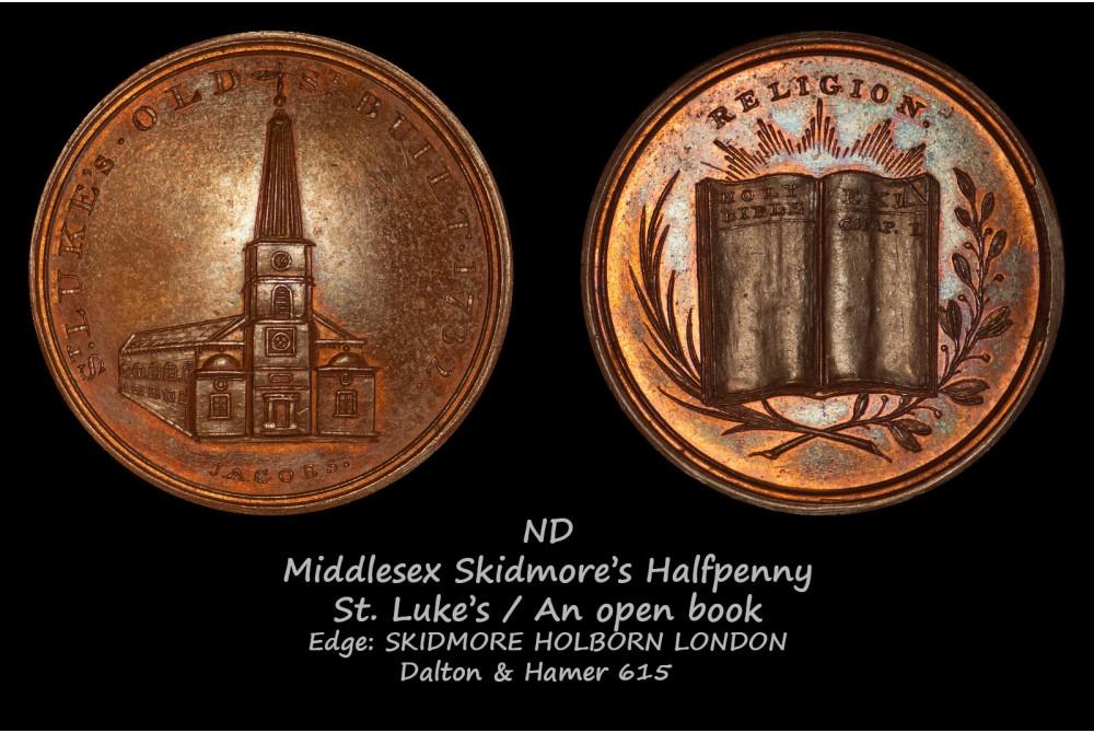 Middlesex Skidmore's Hapfpenny D&H615