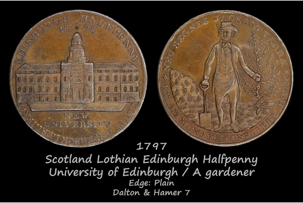 Scotland Lothian Edinburgh Halfpenny D&H7 AU